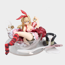 Dis Movie Alice in Wonderland PVC Collection Model Alice Lying in the Cup High Quality Model Toy as Gift 13.5CM BDFG6225