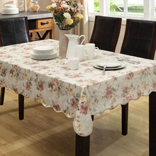 PVC Party Table Cloth Plastic Waterproof Oilproof Toalhas De Mesa Square TableCloth Printed Nappe Table Cover Overlay