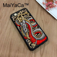 MaiYaCa Chinese Japanese sky dragon cool For iPhone 8 Coque Luxury Full Protection Soft TPU Back Cover For iPhone 8 Phone Cases(China)