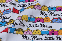 110*45cm Cartoon Mr.Men and Little Miss Sewing rayon Cotton fabric DIY Handmade Material Sewing Fabric Patchwork