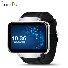 Lemado LEM4 MTK6572 Android OS Smart Watch 2.2'' Touch Screen Bluetooth Smartwatch Support SIM card GPS Map with 0.3mp Camera