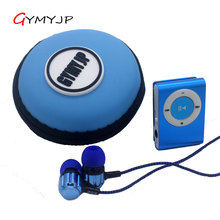 Metal clip Mini Mp3 Music Player for Micro TF Card USB Slot MP3 Player Sport USB Port with Earphone cable bag(China)