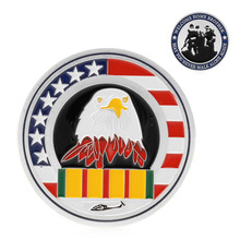 Welcome Home Brother Silver Plated Commemorative Challenge Coin Art Collectible 1pc -Y102