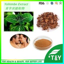 GMP&ISO Manufacturer Sexual Performance Improving Product Yohimbe Bark Extract Yohimbines 200g