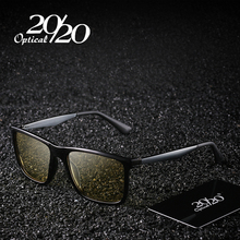 20/20 Brand New Men's Polarized Sunglasses Night Vision Yellow Lens Male Eyewear Night Driving Sun Glasses PZ5006(China)