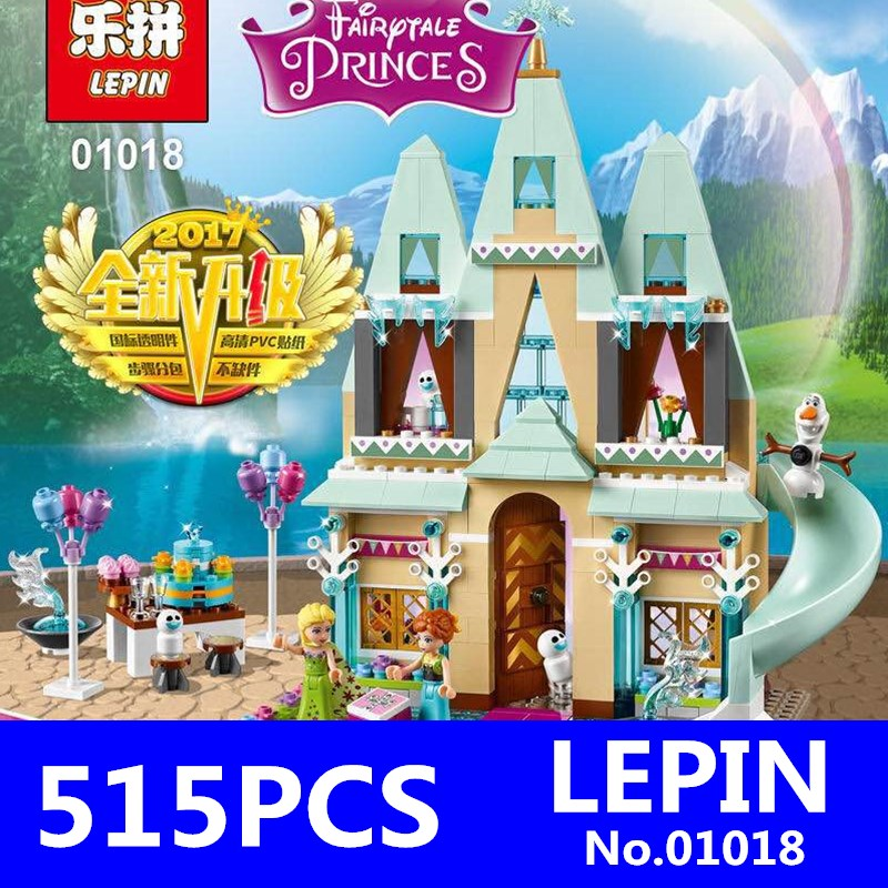 Girls Friends LEPIN 01018 515pcs Princess Belles Enchanted Castle Building Blocks Model Set Christmas Gifts Toys for Children<br>