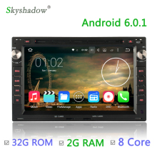 8 core Octa core 2G RAM 32G ROM Android 6.0 Car DVD Player GPS Radio For Volkswagen POLO PASSAT B5 SHARAN JETTA LUPO TRANSPORTER