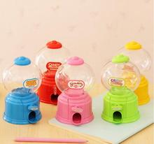 Hot sales Cute Mini Candy Gumball Dispenser Vending Machine Saving Bank Coin Kids Toy(China)