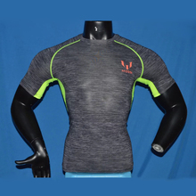 Running T Shirts Men Short Sleeve Sports Suit Gym Crossfit Fitness Soccer Jersey Training T Shirt Jogging Sweat Shirt messi