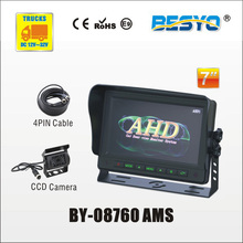 Heavy vehicle (trucks ,bus ,vans) reversing   rearview  AHD  digital   monitor  and camera systems BY-08760 AMS