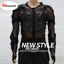 PRO-BIKER Motorcycle Armor Clothing Riding Anti -Wrinkle Long-Sleeved Breathable Car Suits Off-Road Safety Armor Protective Gear