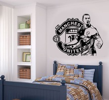 3d Poster Wall Art Zlatan Ibrahimovic Football Player Vinyl Wall Decals Stickers For Kids Room Boy Bedroom Vinilos Paredes A212