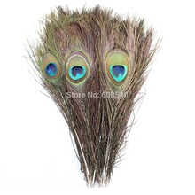 30pc Beautiful Natural Peacock Feather Wedding Decoration, Crafts 10-12'' (25-30cm) FREE SHIPPING