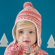0-24M winter warm hats kids boys girls knitted caps toddler baby hats props for photography newborn bonnet enfant Christmas gift