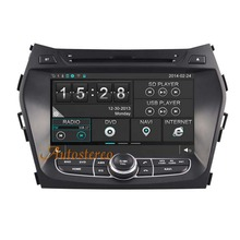 Car Stereo GPS Navigation DVD Stereo Head unit For Hyundai Santa FE IX45 2013 2014 Free Map Latest Version Mirror link