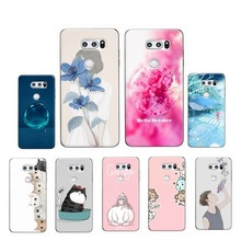 Buy Cover LG V30 Case Cartoon Print Silicone Soft TPU Protector Mobile Phone Cases LG V30 H930 H930ds Back Cover Coque df306 for $2.39 in AliExpress store