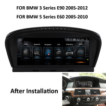 "COIKA 8,8 ""Android 7,1 Авто Регистраторы для BMW E60 2005-2010 E90 2005-2012 gps Navi Радио 2 + 32G RAM BT WI-FI 4G БД DVR Touch(China)"