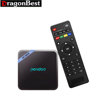 Android TV Box pendoo X8 MINI Amlogic S905W Quad Core 1G8G+2G16G ARM Cortex A53 2GHz Android 7.1.2 WITH Wifi 2.4G Set Top Box(China)