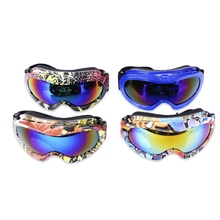 Kid Ski Goggles UV Protection Double Anti-fog Lens Spherical Skiing Glasses Snow Goggles Snow Snowboard Goggles