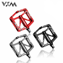 VXM High Quality Aluminum Alloy Mountain Bike Pedals MTB Road Cycling Sealed 3 Bearings Pedals for BMX Ultra-Light Bicycle Parts
