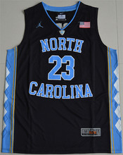 New Arrival Nike 2016 North Carolina Tar Heels Michael Jordan 23 College hot sale skateboard - Black 2016 ACC Patch