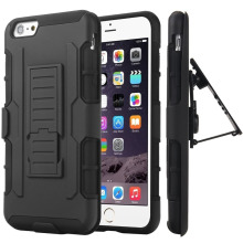 6 6S Case Belt Clip Holster Stand Armor Case Cover For iPhone 6 Plus 6S Plus 5S SE 5C 7 7 Plus iPod Touch 5 Shockproof Hard Case(China)