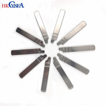 HKCYSEA 10 pcs/lot Metal Blank Uncut Flip KD Remote Key Blade Type #72 for Citroen Triomphe Original NO. 72 Blade(China)