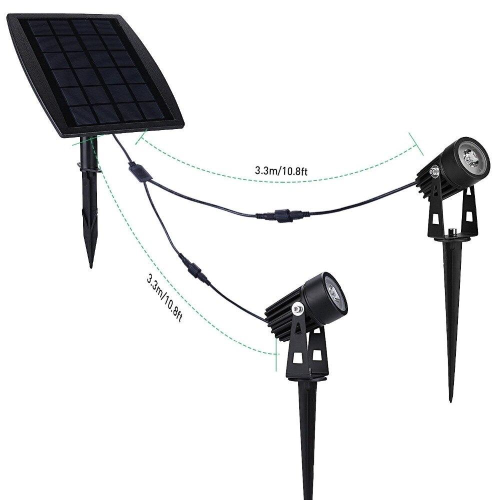 كشافات تعمل على الطاقة الشمسية 15