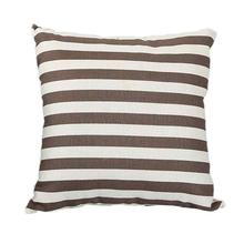 2017 modern sense of misty soft stripes printed sofa bed home decoration section pillow cushion sets