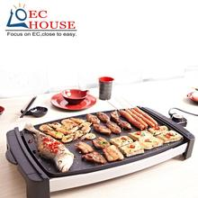 Mingda grill Korean household nonstick smokeless electric oven electrical iron barbecue meat pot FREE SHIPPING