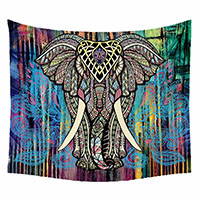 Elephant-Tapestry-Colored-3D-Printed-Handmade-Bohemian-Derocation-Mandala-Tapestry-Wall-Hanging-Tapiz-150x130cm-Wall-Carpet