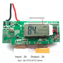 Dual USB 5V 1A 2A 2.1A LCD Mobile Power Bank Board DIY 18650 li-ion Battery Charger PCB Step Up Boost Power Module Digit Display(China)