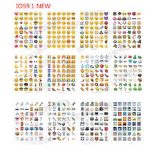 mixed or same 10 sheets/lot Classic/face/New Emoji stickers 48 Die Cut sticker for notebook fun message Vinyl*funny*creative(China)