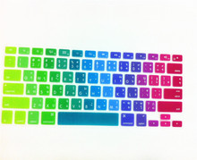 "Thai Language Silicone Keyboard Cover Skin Protector For Apple MacBook Air Pro Retina 13 15 17 US For Mac book 13.3"" 15.4""(China)"