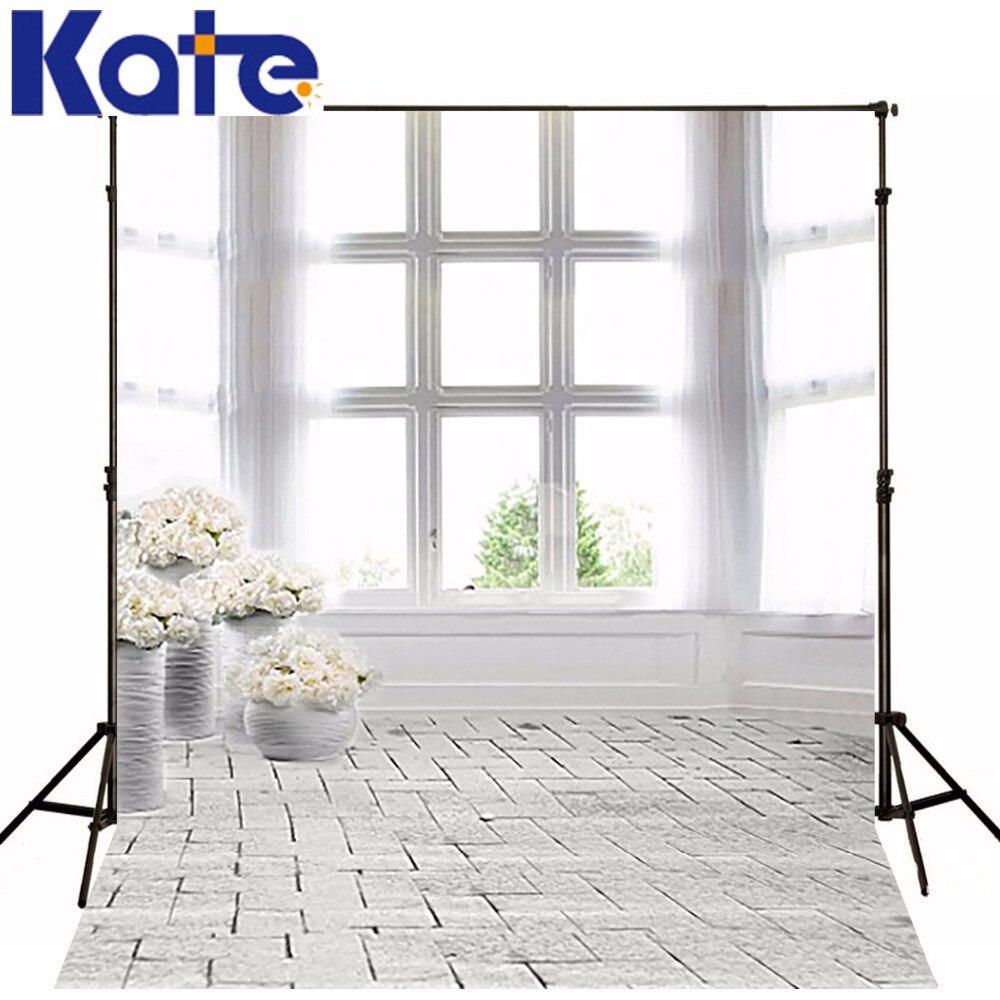 600Cm*300Cm Backgrounds Brick Floor Window Photography Backdrops Thick Cloth Photography Backdrop 3150 Lk<br>