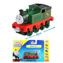 x123Free shipping 2015 New Diecast metal sliding train model Thomas and friends train master WHIFF  with hook children toy gift
