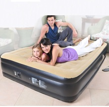 203*157*47CM New flocking waterproof luxury inflatable home bed safe durable dirt easy to clean, CAR convenient air sofa beds