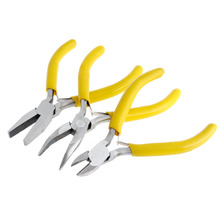 3Pcs Mini Jewelery Pliers Practical Jewelry Carbon Steel Handmade Repair Tool Kit for jewellery maker-W128