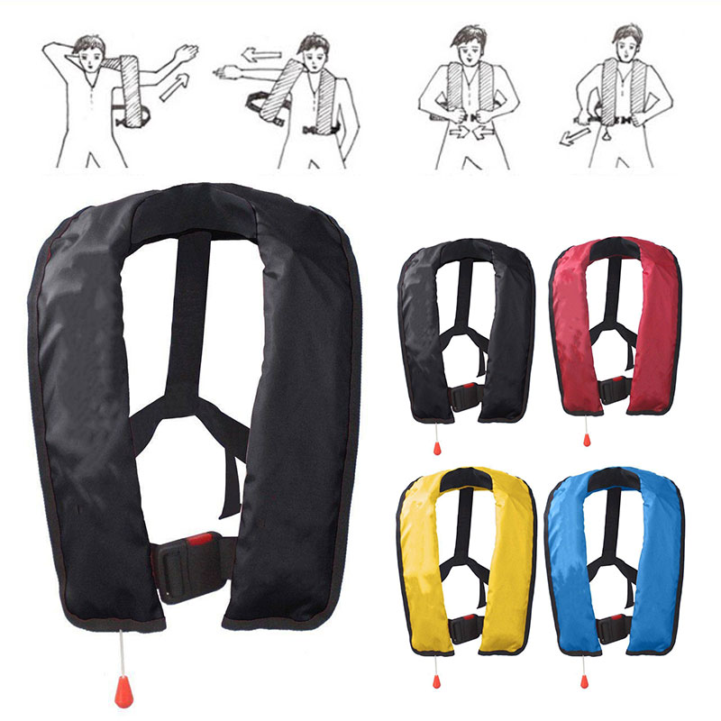relefree Inflatable Automatic Life Jackets Life Vest Applicable Swimming Outdoor Camping Life safe<br>