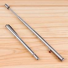 1 PCS Pointer Pen Instrument Baton Section 6 Stainless Steel Telescopic Magic Ballpoint Pen Kindergarten Teacher Teaching Supply