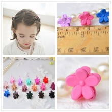 16pcs/lot baby girls solid hair barrettes for children mini hair clip bows for girls hairpins accessories Hairgrips headwear