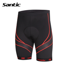 Santic Men Cycling Shorts Gel Padded Riding Shorts MTB Mountain Bike Bicycle Shorts Bermuda Ciclismo Sports wear Quick Dry Short