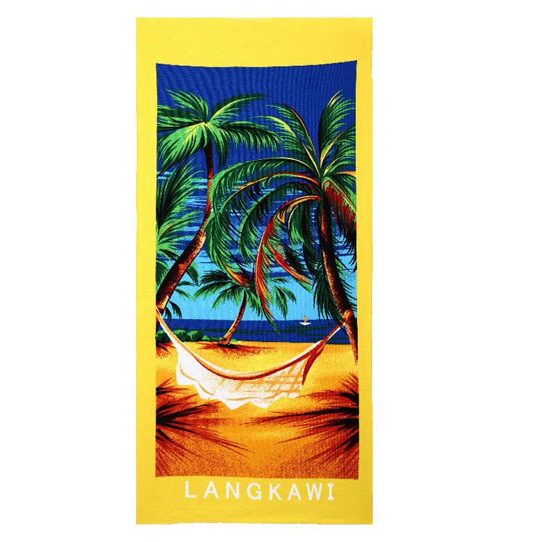 Micro Fiber Printed Beach Towel 140*70cm 24