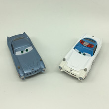 2pcs/set Pixar Cars 2 Finn McMissile and White Sheriff Metal Diecast Toy Car 1:55 Jugetes Car Pixar Cars Toys for Children Gift