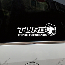 Turbo Inside Driving Performance Car Truck Decal Bumper Sticker Windows Vinyl Die cut ,choose size and color!(China)