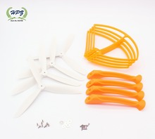 Original Orange colour Upgrade propeller landing skid... for Syma X8C / X8W / X8G / X8HC / X8HW / X8HG RC Quadcopter spare parts