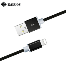 KALUOS 3m Ultra Long Fast Charging Cable 8 Pin USB Data Sync Charger Cable For iPhone 5 5S 6 6S 7 Plus iPad 4 mini 2 3 Air 2 Pro
