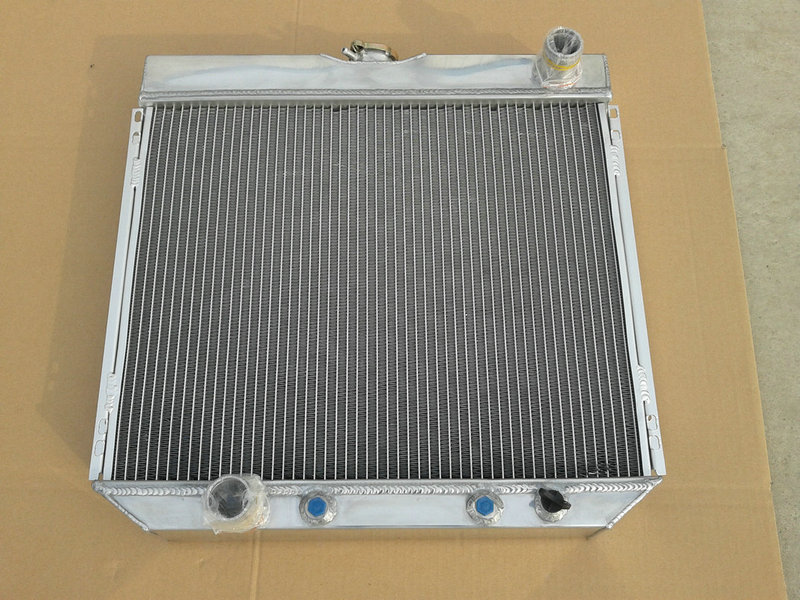 3 ROW ALUMINUM RADIATOR FOR FORD MUSTANG V8 1967-1970 1968 1969 67 68 69 70(China)