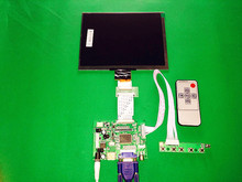 "HDMI/VGA/AV Control Driver Board + 8""inch HL080IA-01E 1024*768 IPS high-definition LCD Display For Raspberry Pi(China)"