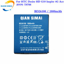 QiAN SiMAi For HTC Desire HD G10 Inspire 4G Ace BD26100 A9191 T8788 Phone 1PCS 2017 New 100% High Quality BD26100 battery(China)